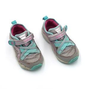 Stride Rite M2P Serena Velcro Sneaker Shoe 6T